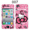 Pink kitty mobile phone decoration sticker for mobile, lovely phonr decals for lady girls