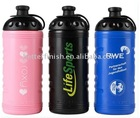 Better finish Low price plastic sport water bottle