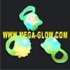 LED Flashing Tpi Rubber Finger Ring