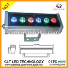New design 6w rgb led outdoor wall washer light