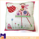 embroidered cartoon character soft cushions,home decorate cushion