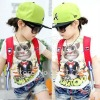 2012 new arrival boys fashion t shirt with printing design,childrens short sleeve t shirt with cartoon