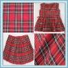 school uniform/ school dress check yarn dyed fabric