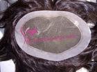 PU construction Grade AAA hair toupee for men