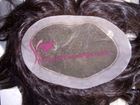 PU construction Grade AAA hair toupee for men