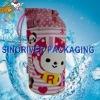 recyclable wine shoulder bottle cooler bag