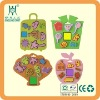 children eva foam stamp set with kinds of design