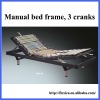 3 cranks manual bed for home