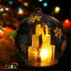 X'Mas LED Color Changing Glass Ball With Gift