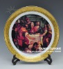 Famous Ceramic decorative plate crafts