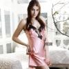 Women's satin nightwear sleepwear nightgown