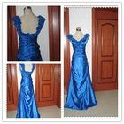 Free Shipping New design royal Blue evening Gown 2013
