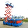 Self-propelled aerial lift platform