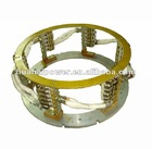 Motor stator--Brush rocker