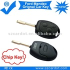Cut Key Remote is for Ford Mendeo Car,Remote Car Key with chip,433mhz working frequency.