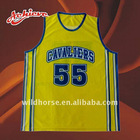custom sublimation polyester basketball jersey