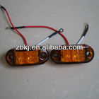 "2.5 X 1"" C/M lamp 100% waterproof 12V LED Marker light"
