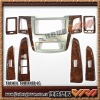 car wooden interiors for TOYOTA Fortuner