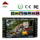 "6.2"" touch screen 2din with GPS/DVD/CD/USB/SD/IPOD/MP3/MP4"