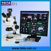 7X-45X trinocular microscope with camera