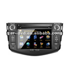 TOYOTA RAV4 7 inch touch screen car navigation gps tracker dvd player with Digital TV