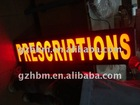 Outdoor LED shope signage/Flashing Open Sign/3d illuminate signs