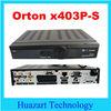 Orton X403p receiver HD DVB-S2 ORTON 403p HD satellite receiver with ALI3602 solution