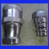 Hydraulic Fitting Fast Coupling Male + Female