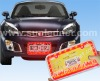 LED car license flame frame for USA