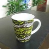 Decal porcelain mug for promotional