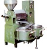 Integrated oil press