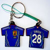 Attractive and Cool Metal Keychains Clips of T-Shirt Shape