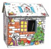 Funny Children DIY paper house