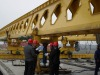 100t Honeycomb girder launching gantry