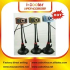 High Speed USB2.0 pc webcam for desktops with Night vision lamp,Microphone