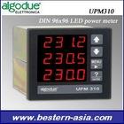 DIN 96x96 LED power meter:ALGODUE UPM310