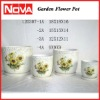 Ceramic Pottery Cheap Flower Pots with Good Design