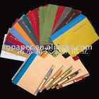 Senior diary wrapping PVC coated paper