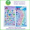 Kids Intelligent letter stickers number stickers