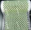 rhinestone with pearl mesh