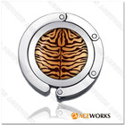Foldable Bag Hanger Tiger Print