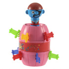 2012 Christmas Baby Dolls Funny Lucky Stab Pop Up Toy Gadget Pirate Barrel Game Toys set