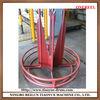 Steel wire coiler