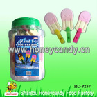 Ice Cream Shaped Dextrose Toy Candy With Whistle