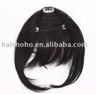 7inch human hair bang
