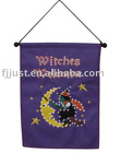 Halloween wall hanging banner led light function