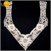 Garment Accessory Water Soluble Embroidery Lace Collar Motif