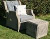 popular europen outdoor rattan leisure chair,waterproof leisure chair