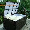outdoor rattan cushion KD box