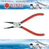 Straight Nose Internal Pliers Hardware Tools